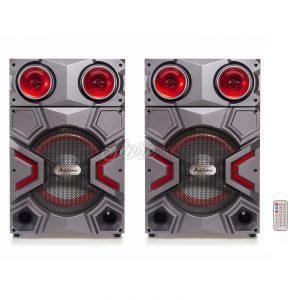 Set Boxe Active Ailiang 7011,300W, 10inch, joc Lumini, Bluetooth,Radio, Telecomanda