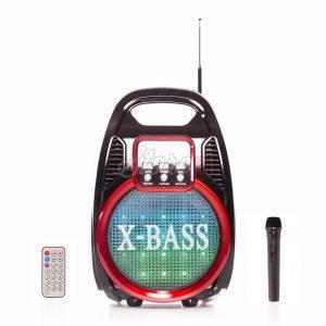 Boxa Activa Portabila XBass,60W, Bluetooth,Radio,Cu Microfon, Telecomanda