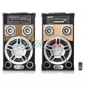 Set Boxe Active Ailiang 801 ,250W, 8 inch, , Bluetooth,Radio, Telecomanda,USB