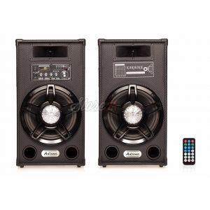 Set Boxe Active Ailiang 12DC ,140W, 10inch, , Bluetooth,Radio, Telecomanda