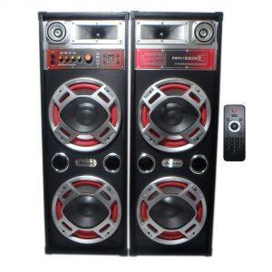 Set Boxe Active 620 , 500W ,Telecomanda,  Bluetooth ,Radio, Usb ,SD Card, 4 Subwoofere De 10 Inch