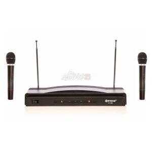 Set 2 Microfoane Wireless Cu Receiver  C-05