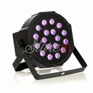 PAR LED Efecte Disco Club RGBWX18Leduri, 3W , Aparat Joc Lumini DMX