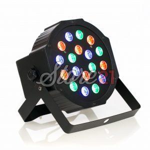 PAR LED Efecte Disco Club RGB X 18Leduri, 1W , Aparat Joc Lumini DMX