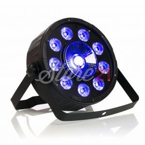 PAR LED Efecte Disco Club RGBW 10X10Leduri, 10W , Aparat Joc Lumini DMX
