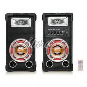 Set Boxe Active Ailiang ,300W, 6 Inch, , Bluetooth,Radio, Telecomanda, Microfon , usb.