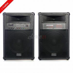 Set Boxe Active Profesionale 720W  Vlliodor DS-2035,15 INCH, , USB, Radio, Bluetooth+Cadou