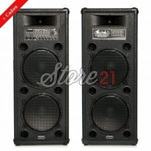 Set Boxe Profesionale Active Vlliodor 2062, 900 W , Sunet Puternic , Bluetooth , Usb ,SD Card, 4 Subwoofere De 12 Inch