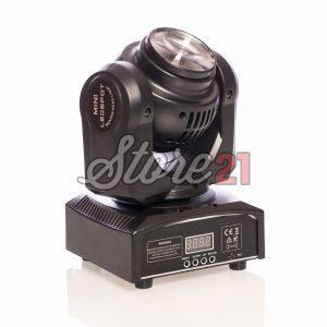 MINI MOVING HEAD DUBLU FATA, 4x15W RGBW LED Beam, Wash Light 16-22 channels DMX512 Control Lighting Effect