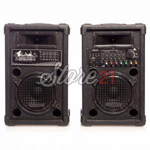 Set Boxe Profesionale Active Vlliodor 2008, 300 W , Sunet Puternic , Bluetooth , Usb ,SD Card