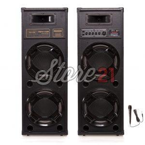 Set Boxe Active  TEMEISHENG 2308 , 500W , Bluetooth ,Radio, Usb ,SD Card,Microfon Cu Fir