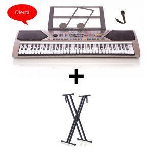 Oferta Orga Electronica MQ-001UF + Suport Orga Boxe,MP3,USB,Microfon