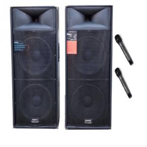 Set boxe active Boxe  2025, 1120W, Statie Profesionala, 4 Dfiuzoare 15 inch, 2 Microfoane Wifi, Bluetooth, Radio.