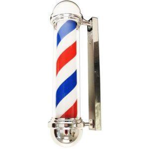 Reclama POLE LED barber shop,Semn Luminos American