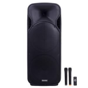 Boxa Bluetooth Activa 800W, Karaoke, Radio Card, USB, MP3, 2 Microfoane Wireless, Telecomanda