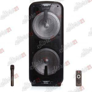 Boxa Bluetooth Activa Smart Bass 500X2 W, Karaoke, Radio Card, USB, MP3,  Microfoan Wireless, Telecomanda