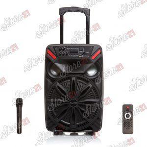 Boxa Troler Smart bass , 300W, 12 inch , Microfoan , USB, Radio, Bluetooth,Card