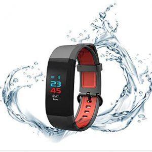 Bratara fitness Alta HR, Android/iOS, Large, Black Gunmetal rezistență la apa: IP67