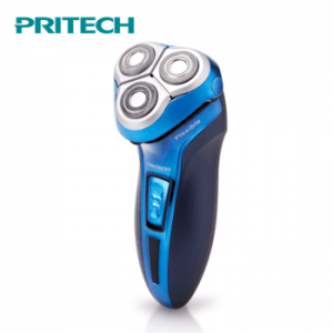 Aparat de ras portabil , Trei lame elastice adaptabile la forma fetei,  Lame otel, Rezistent la apa IPX6+Cadou Masina De Tuns Baterii-Trimmer Profesional