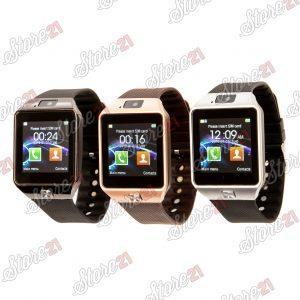 Smartwatch  cu Bluetooth si Camera Foto, Compatibil SIM si MicroSD NEGRU , ROZ, GRI