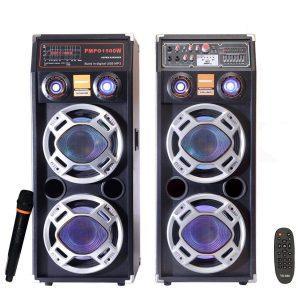 Boxe Active  2304 , 650W , Bluetooth ,Radio, Usb ,SD Card,Microfon cu fir , Telecomanda
