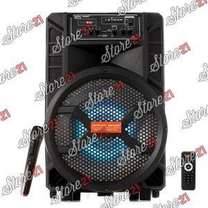 Boxa Troler Smart bass , 200W, 12 inch , Microfoan , USB, Radio, Bluetooth,Card