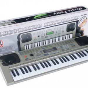 Orga electronica MQ-807 USB Boxe,MP3,USB,Microfon,Claviatura 54 clape,100 de Ritmuri
