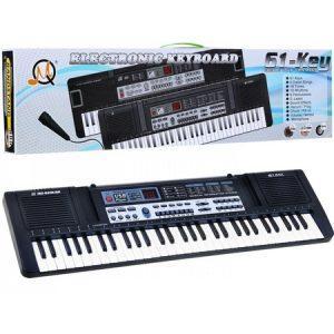 Orga electronica MQ-829USB Boxe,MP3,USB,Microfon, 61 clape,10 Ritmuri