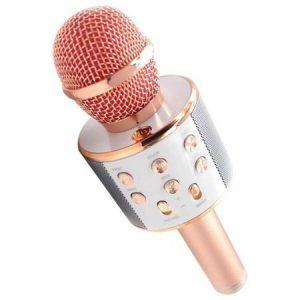 PROMOTIE IMBATABILA! Cu Doar 99 Lei In Loc De259 Ai: Microfon Karaoke Wireless, Cu Boxa Incorporata +Set ceas pentru copii  , creioane, , rigla si guma+Baloane folie cu desene+ PERNE disney 45X+45 CM+buzzel+lampa led+20 sticker+slaim,diverse modele