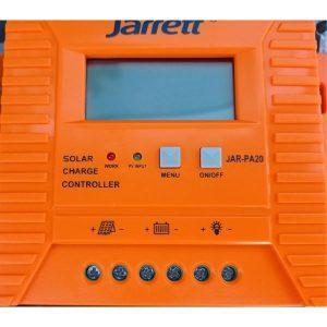 Controller profesional pentru Sistem Panou Solar cu 20 A ,Jarrett JAR-PA20
